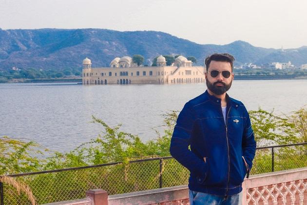 Man Made Wonder Jal Mahal Jaipur