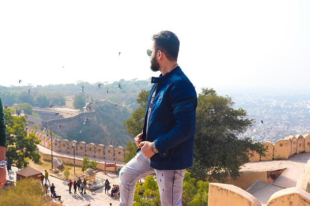 Nahargarh Fort Top Point