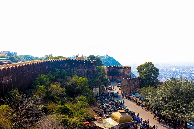 Nahargarh Fort Wall