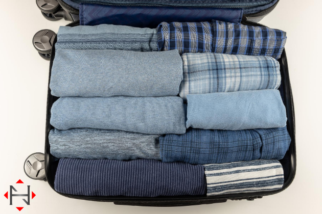 Roll Clothes For Packing