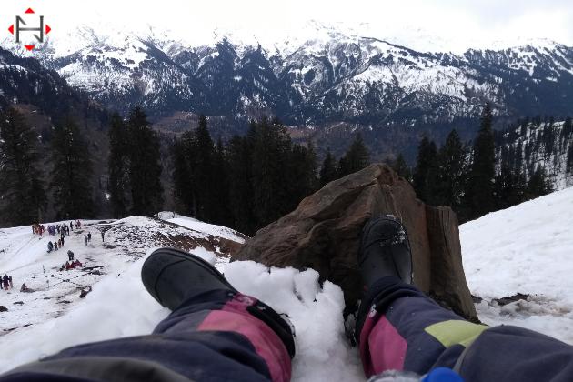 Manali During Winter