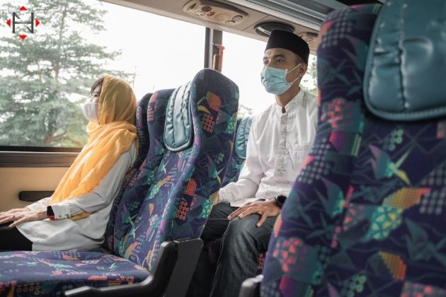 Precautions while traveling in bus during COVID-19